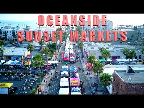 Oceanside Sunset Markets [Vlog]