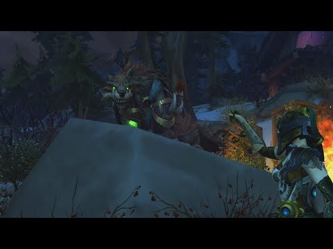 The Story of Huntmaster's Wolfhawk - Patch 7.2 Hunter Class Mount [Lore]