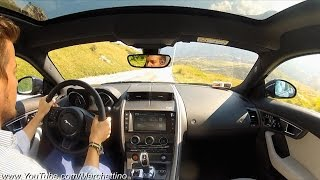 a day w the jaguar f type s awd driving amazing roads