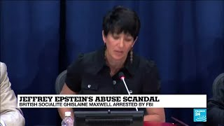Ghislaine maxwell arrested on multiple charges of procuring minors for jeffrey epstein to abuse