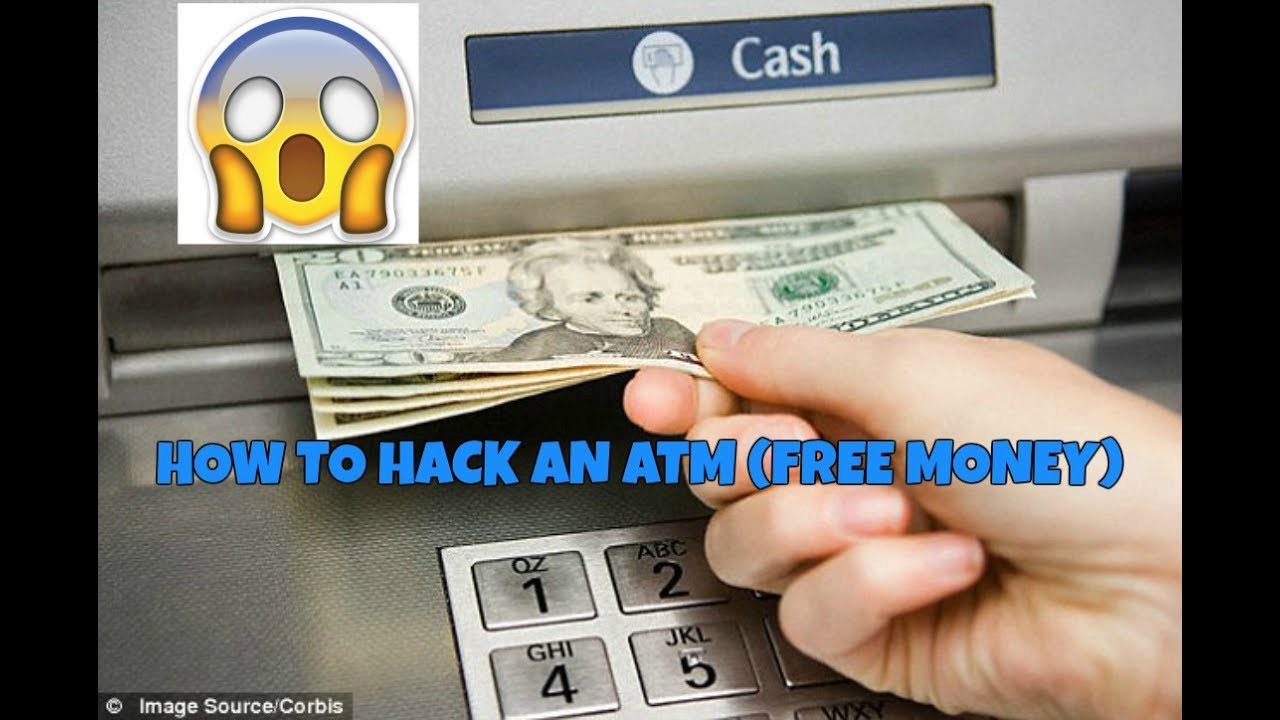 HOW TO HACK ATM MACHINE *LEGAL* (FREE MONEY)