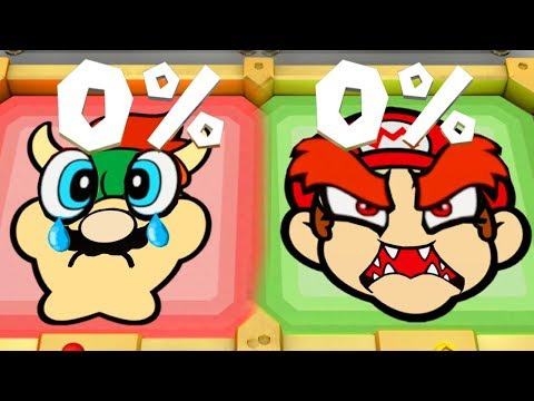 Super Mario Party - Minigames - Mario and Peach vs Bowser and Luigi