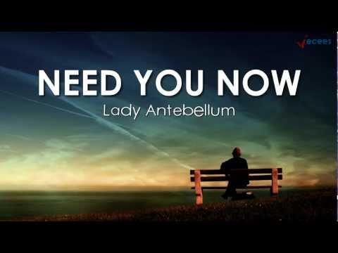 Need You Now Lyrics - Lady Antebellum