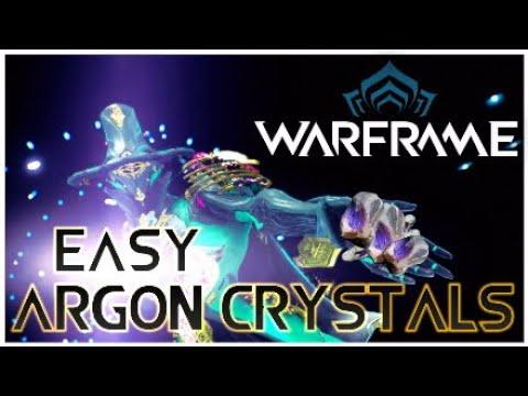 Warframe best way to get argon crystals