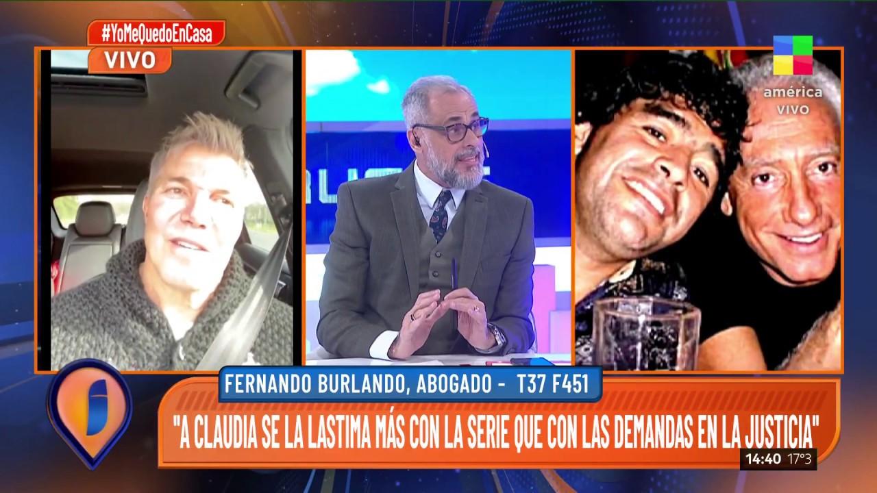 El reclamo judicial de Claudia Villafañe contra la serie ...