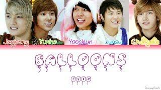 Video TVXQ (동방신기) - Balloons (풍선) [Colour Coded Lyrics] (Han/Rom/Eng) download MP3, 3GP, MP4, WEBM, AVI, FLV Juli 2018
