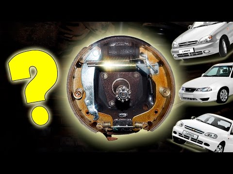 Замена тормозных колодок на Chevrolet Lanos