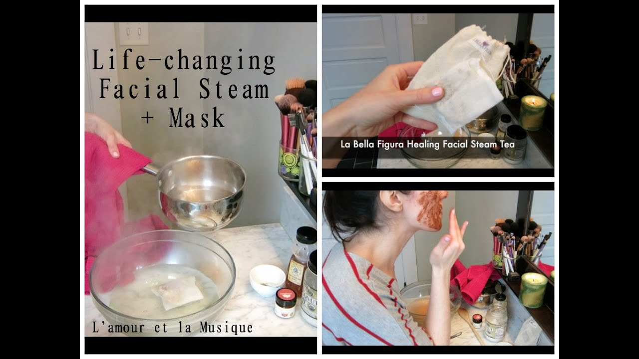 Mistake can facial steam mask