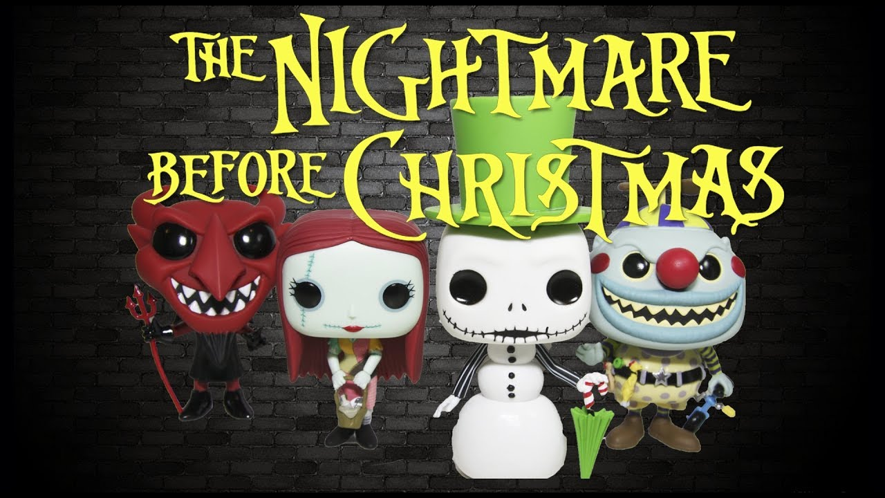 NEW Nightmare Before Christmas Funko Pop! Collection Unboxing 25th ...