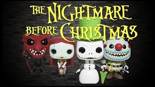 The Nightmare Before Christmas 25 Years Funko Pop Collection Review