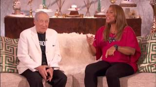 Mel Brooks Plants One on Queen Latifah