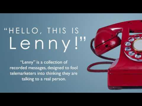 Telemarketer figures out Lenny is a robot in 10 minutes, then talks to him for 23 minutes