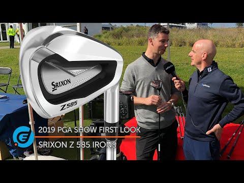 SRIXON Z 585 IRONS