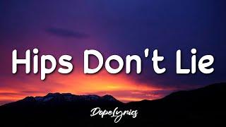 Hips Don't Lie - Shaĸira feat. Wyclef Jean (Lyrics) 🎵