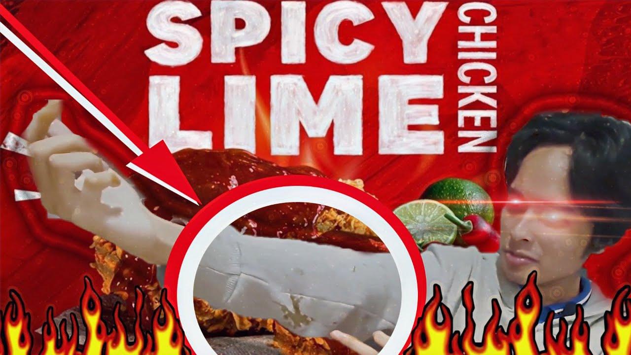 KFC SPICY LIME SAUCE,MENU BARU KFC BERUPA SAMBAL - YouTube