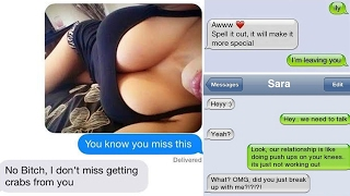 Repeat youtube video Worlds Worst Breakup Texts! #3