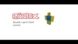 Roblox episode 1 part 1