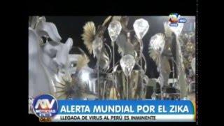 ALERTA MUNDIAL POR EL ZIKA, LLEGADA DE VIRUS AL PERÚ ES INMINENTE