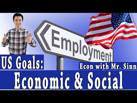 The Economic & Social Goals of the United States of America
