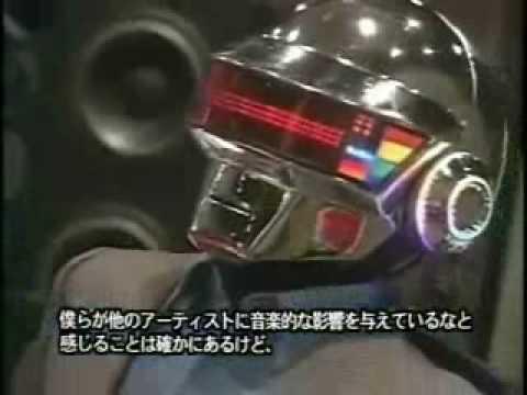 Daft Punk Interview in Japan Pt. 1