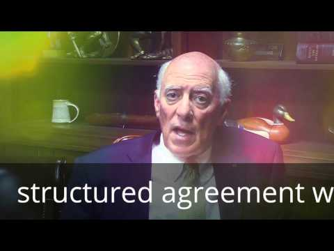 structured settlement agreement to inhance your ability