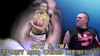 CZW & IWA funny and weird Moments Part 25