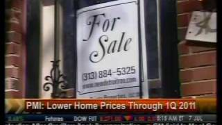 Lower Home Prices Through 1Q 2011 - PMI - Bloomberg