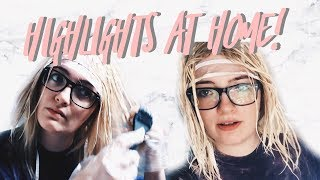 DIY Highlights At Home! | BACK TO BLONDE PART 2