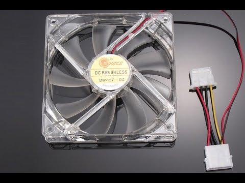 Светодиодный вентилятор охлаждения для ПК из Китая