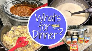 WHAT'S FOR DINNER? // EASY FAMILY RECIPES // DINNER IDEAS