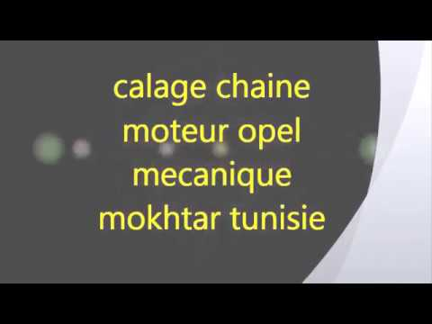 calage distribution opel diesel 2 2 16v mecanique mokhtar tunisie youtube. Black Bedroom Furniture Sets. Home Design Ideas