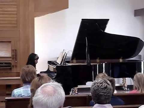 Rajsree (Romi): Piano recital April 2013, Pella, Central College Music Academy, Iowa