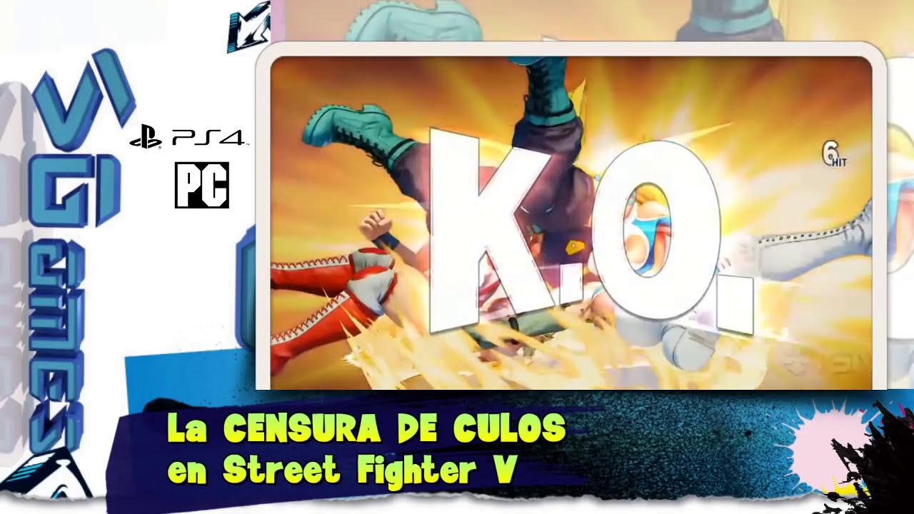 Azotes Al Culo la censura de culos en street fighter v ¡queremos los azotes en el culete!