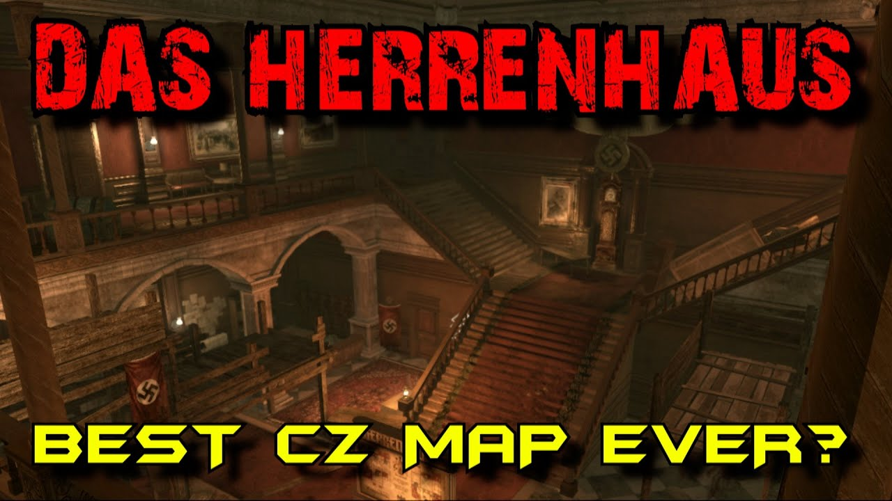 DAS HERRENHAUS: Best CZ Map Ever? ☆ Call of Duty Custom Zombies ...
