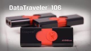 Capless USB Flash Drive, USB 3.1, 16GB-256GB - DataTraveler 106 – Kingston Technology