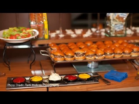 How To Arrange A Serving Line For A Wedding Reception Great