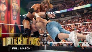 FULL MATCH - Triple H vs. John Cena – WWE Title Match: WWE Night of Champions 2008