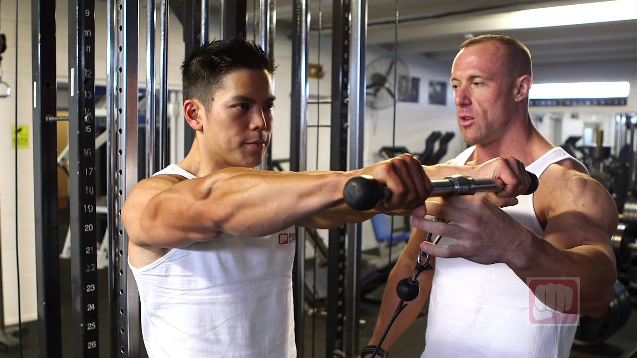 cable front lateral raise youtube