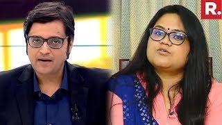 Martyr Pramod Kumar's Wife Neha Tripathi Speaks To Arnab Goswami   #HeroesOfIndia