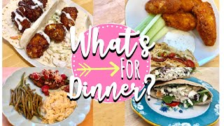 WHAT'S FOR DINNER? QUICK + EASY DINNER IDEAS MAY 2019