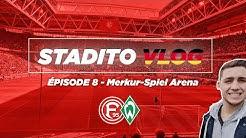 PREMIÈRE EXPÉRIENCE ALLEMANDE   VLOG #8 Fortuna Düsseldorf-Werder Bremen - Merkur-Spiel Arena