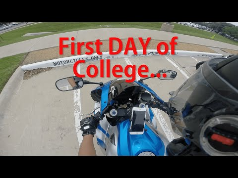 WATCH WHERE YOU'RE GOING | First Day of College