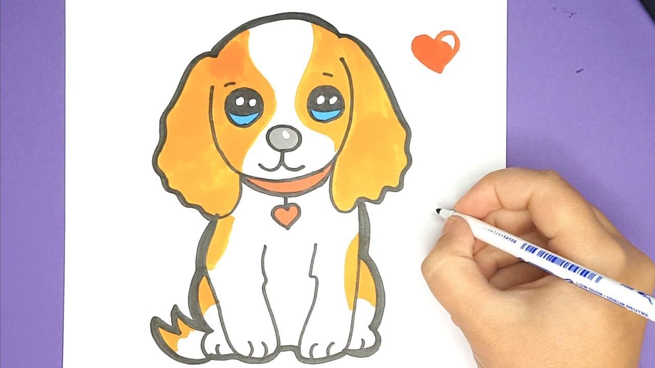 Ausmalbild Hund Kostenlos Malvorlage Hunde