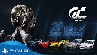 Gran Turismo Sport | 20 Years of GT | PS4 Pro