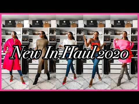 NEW IN HAUL + TRY ON + PR UNBOXING 2020 | MONROE STEELE