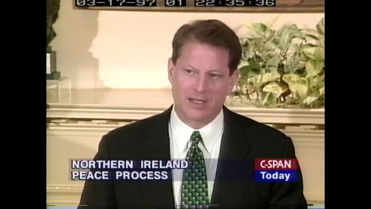 John Bruton & Al Gore on St Patricks Day 1997 - YouTube