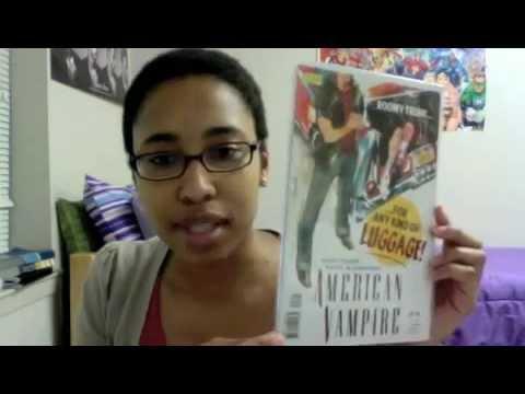 Unboxing: American Vampire Comic Books