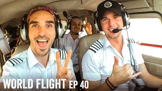 FLYING TO PAKISTAN! - World Flight Episode 40