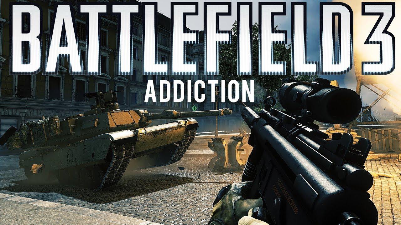 Battlefield 3 Sucht + video