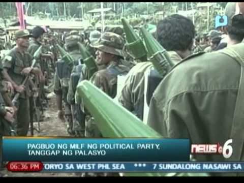 News@6: Pagbuo ng MILF ng political party, tanggap ng palasyo